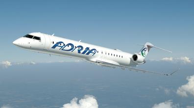 Adria Airways van Lodz naar Schiphol