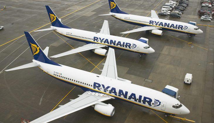 Ryanair: bonus voor piloten die vakantie overslaan