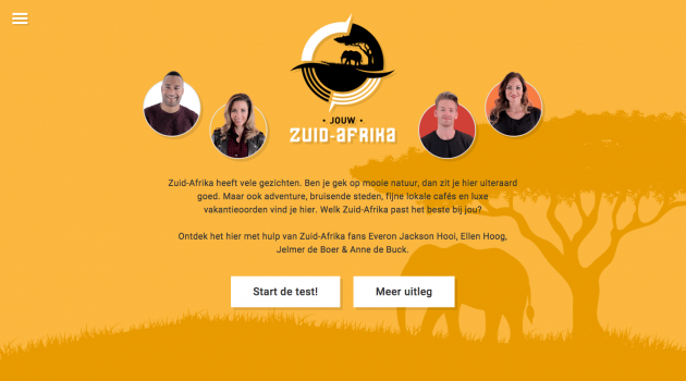 Nieuwe campagne South African Tourism