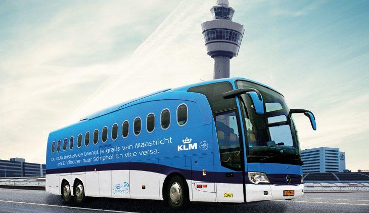 KLM start tweede busservice