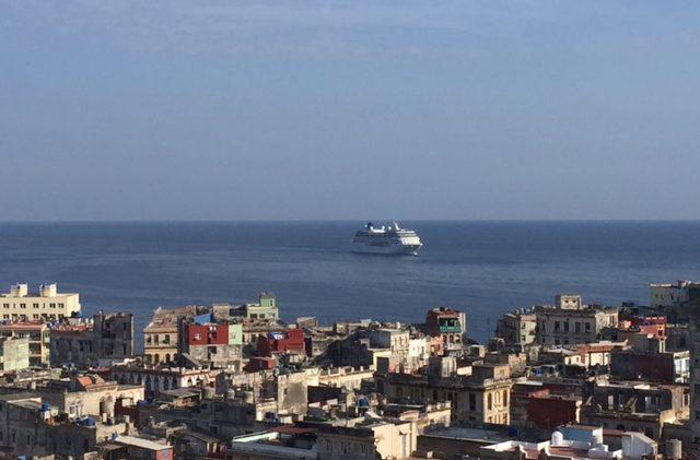 Historische cruise komt aan in Cuba