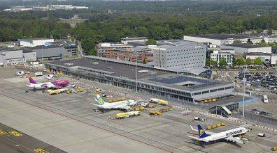 Vluchten Eindhoven Airport hervat.