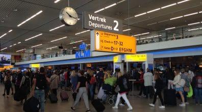 Vlog: hoe druk is het op Schiphol?