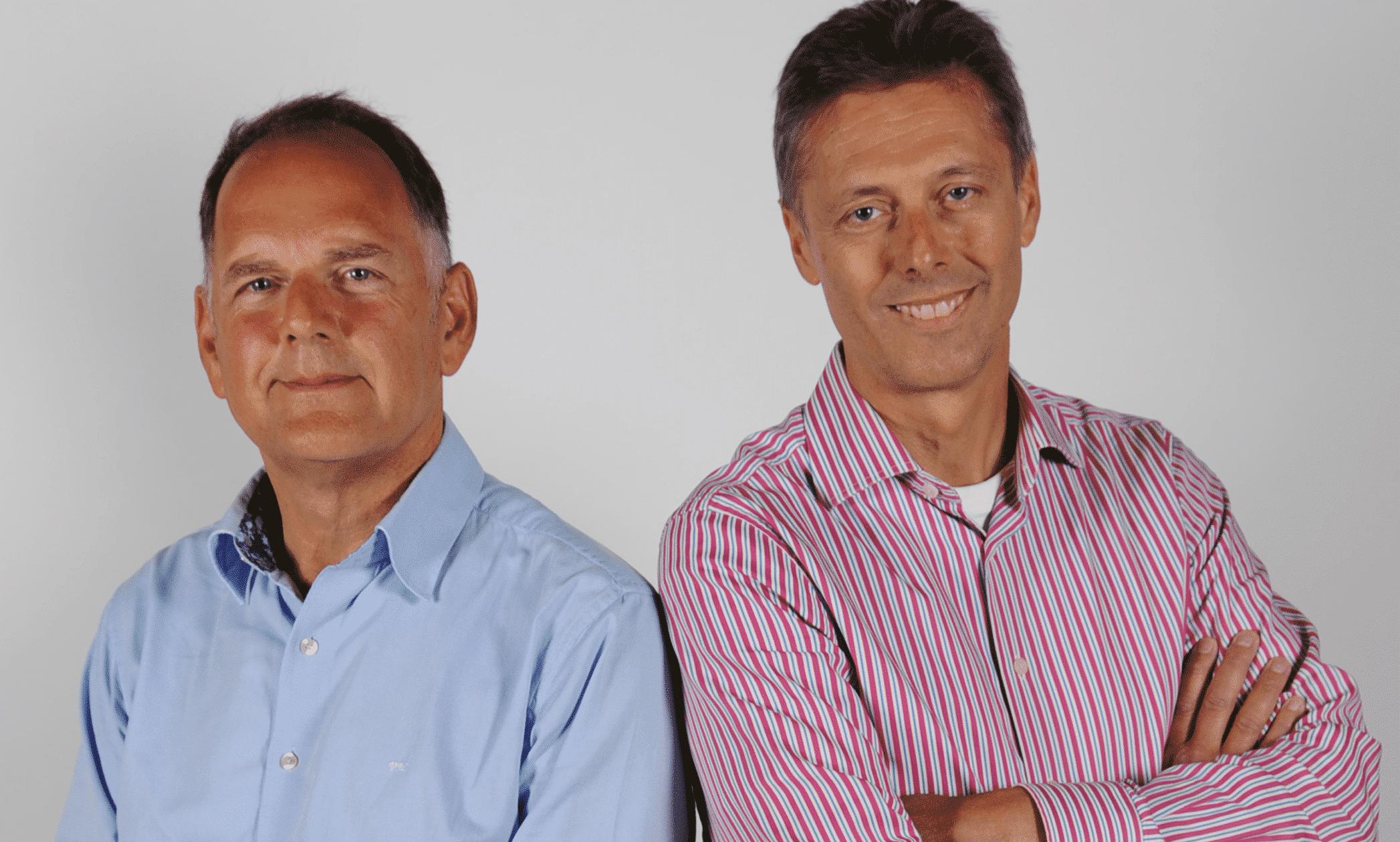 Airtrade Jeroen Martron en Frank Wester