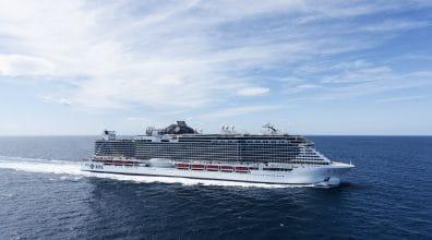 MSC Cruises viert in de vaart genomen vlaggenschip