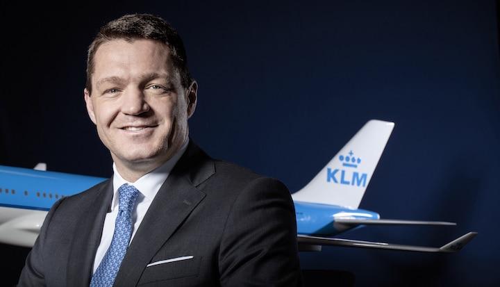 KLM op koers zegt Pieter Elbers