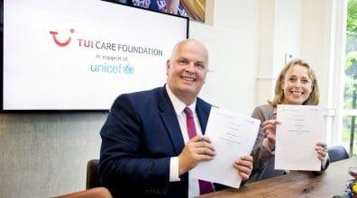 TUI Care Foundation en UNICEF gaan samenwerking aan