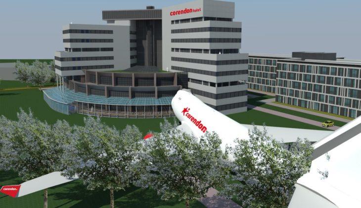 KLM Boeing 747 naar Corendon