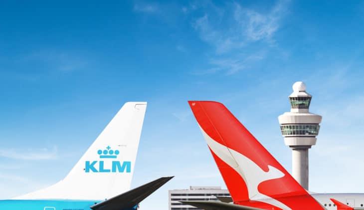 KLM en Qantas tekenen codeshare-overeenkomst