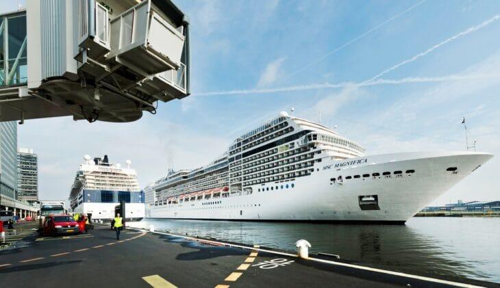 Ook P&O en Cunard mijden Amsterdam