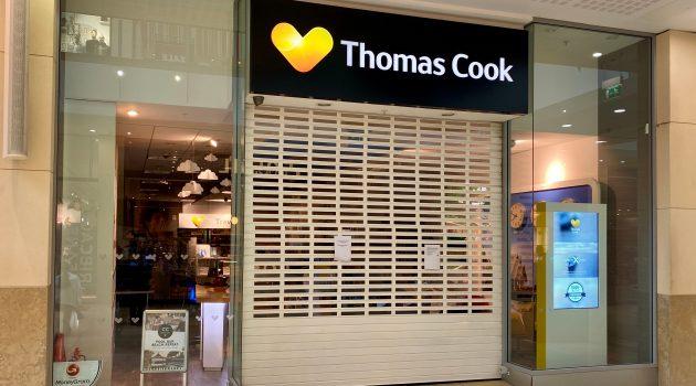 TUI kan domeinnaam Thomas Cook niet kopen