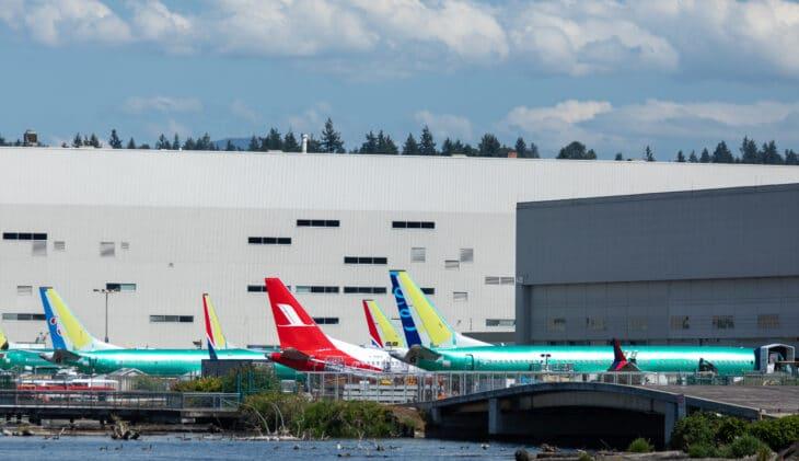 Boeing vindt opnieuw afval in brandstoftanks 737 MAX