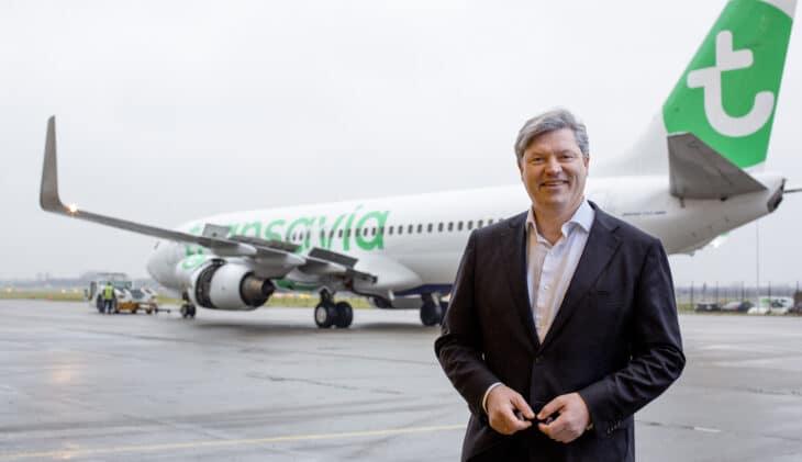 Marcel de Nooijer (Transavia): 'Hoop op herstel in 2023 of 2024'