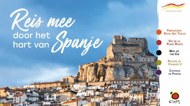 Reis mee door het hart van Spanje