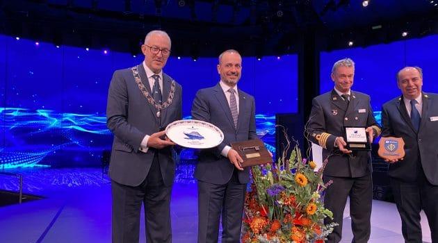 Warm welkom voor nieuw vlaggenschip HAL: de Rotterdam VII